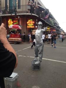 silver man