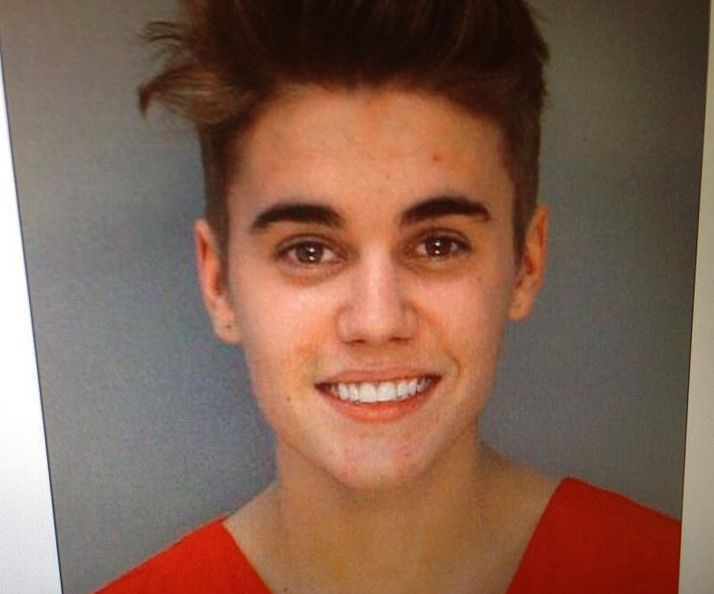 Justin Bieber arrested for DUI and driving without a license after Miami cops caught him street racing.